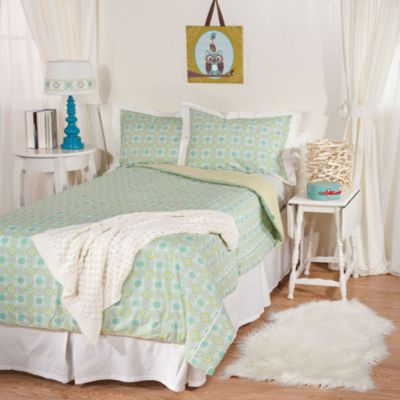 Lolli Living™ by Living Textiles Baby Twin Bedding in Gio/Labyrinth Green Comforter & Sham Set