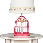 Lolli Living™ by Living Textiles Baby Lamp Base in Fuchsia Birdcage