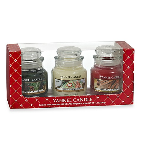 Yankee Candle® 3 Small Classic Candle Jars Gift Set