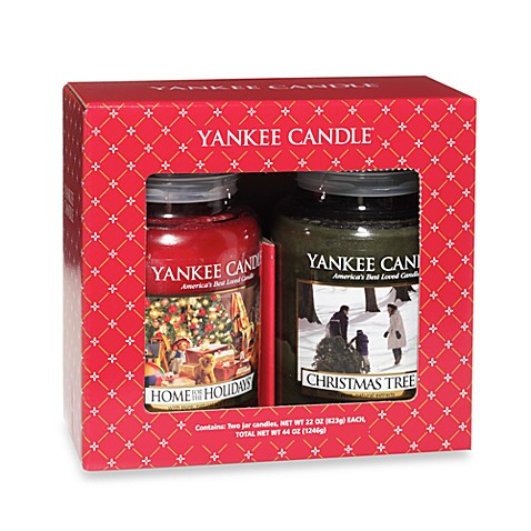 Yankee Candle Large Classic Jars Gift Set (2 Candles)