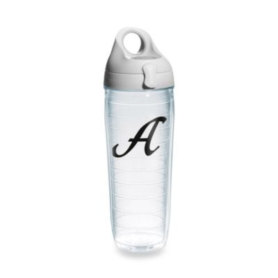 "Tervis® 24-Ounce Letter ""A"" Emblem Water Bottle"