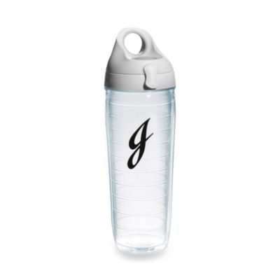 "Tervis® 24-Ounce Letter ""J"" Emblem Water Bottle"