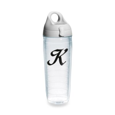 "Tervis® 24-Ounce Letter ""K"" Emblem Water Bottle"