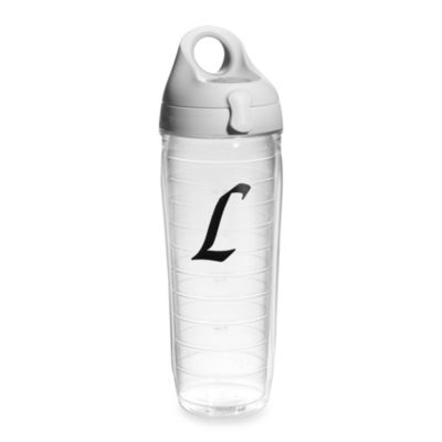 "Tervis® 24-Ounce Letter ""L"" Emblem Water Bottle"