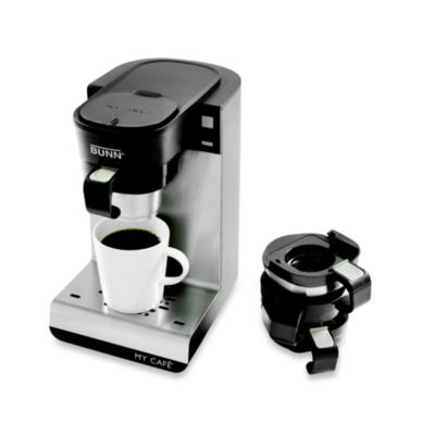 Single Cup Coffee Maker Uses Grounds : Bunn My Cafe Single Serve Coffee Brewer - Bed Bath & Beyond