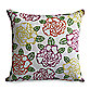 Nostalgia Home™ Floral Embroidery Square Throw Pillow