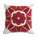 Nostalgia Home™ Loop Stich Embroidered Square Toss Pillow