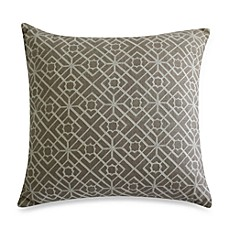 Nostalgia Home Fashions™ Satin Stich Embroidered Square Toss Pillow