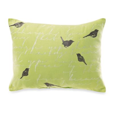 KAS® Letter from Paris Oblong Toss Pillow