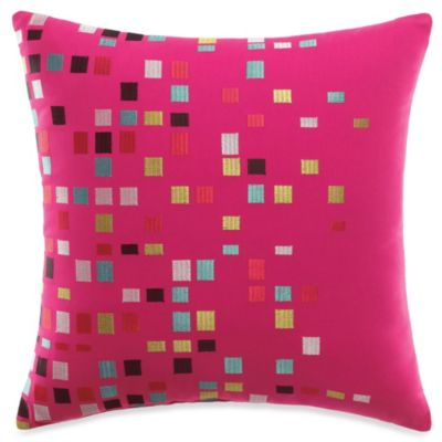 KAS® Nymira Embroidered Square Toss Pillow