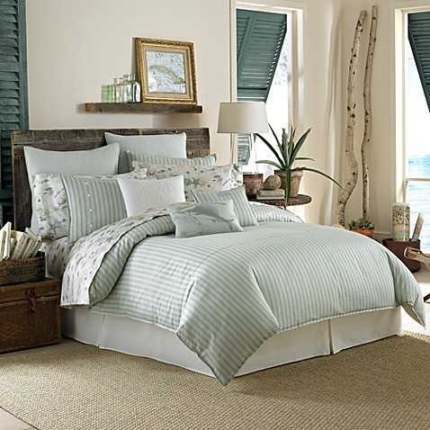 Tommy bahama surfside stripe duvet cover bed bath beyond Tommy bahama bedding