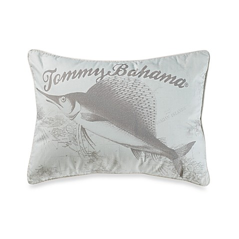Tommy Bahama® Surfside Stripe Sail Fish Oblong Throw Pillow