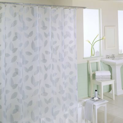 Metallic Silver Shower Curtains