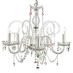 Murano Venetian-Style All Crystal Chandelier