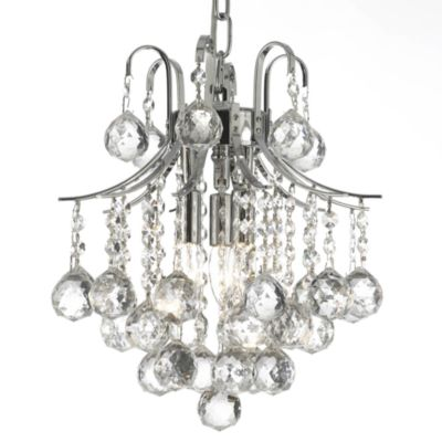 Empire Crystal 3-Light Mini-Chandelier