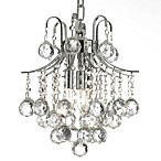 Gallery Empire Crystal 3-Light Mini-Chandelier