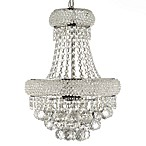 Empire Crystal 3-Light Chandelier 19-Inch