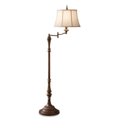 Feiss Gibson One Light Cambridge Crackle Floor Lamp