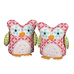 Lolli Living™ by Living Textiles Baby Tigerlily Fuchsia Owl Bookends (Set of 2)