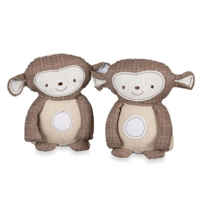 Baby Room Decor > Lolli Living™ by Living Textiles Baby Monkey Bookends (Set of 2)