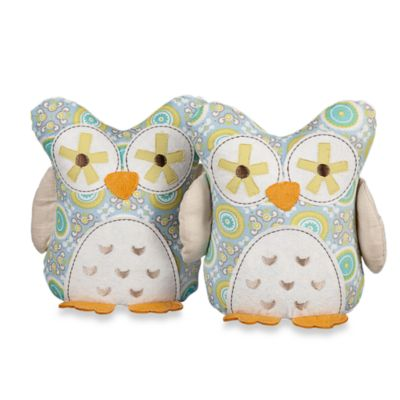 Lolli Living™ by Living Textiles Baby Gio Owl Bookends (Set of 2)