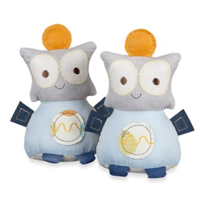 Baby Room Decor > Lolli Living™ by Living Textiles Baby Bot Bookends (Set of 2)
