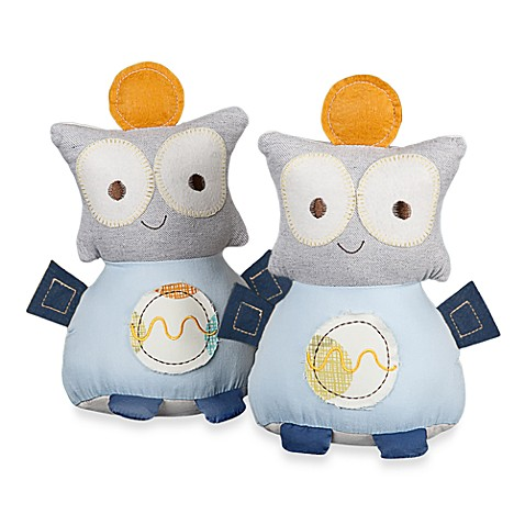 Lolli Living™ by Living Textiles Baby Bot Bookends (Set of 2)