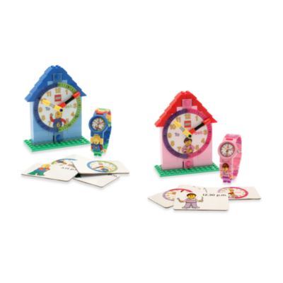 LEGO® Time Teacher Kid's Minifigure Watch & Clock