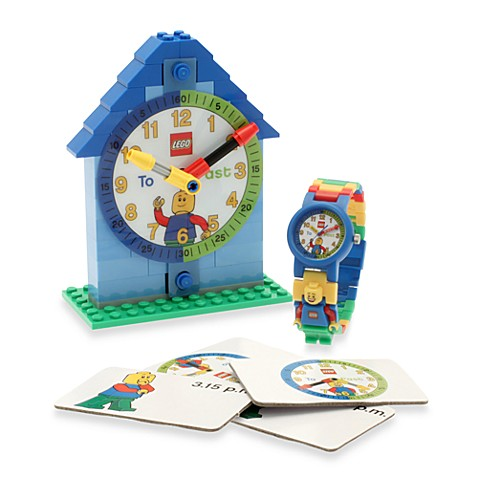 LEGO® Time Teacher Boy's Mini Watch & Clock