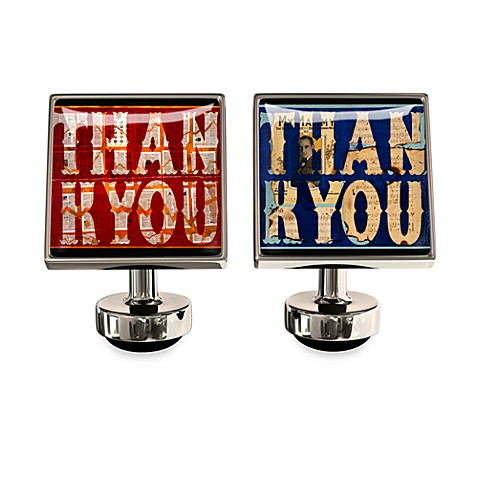Wurkin Stiffs® Thank You Cufflinks