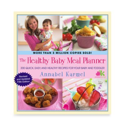 Healthy Baby Meal Planner - from Simon and Schuster