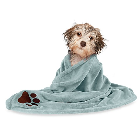 Microdry® Super Absorbent Pet Towel - Blue