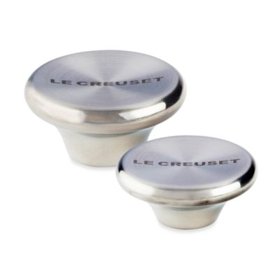 Le Creuset® Large Stainless Steel Knob
