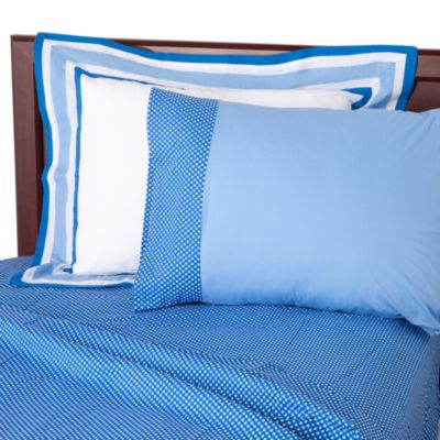 One Grace Place Blue Full Sheet Set