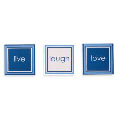 "Personalized Live"" Laugh Love Canvas"
