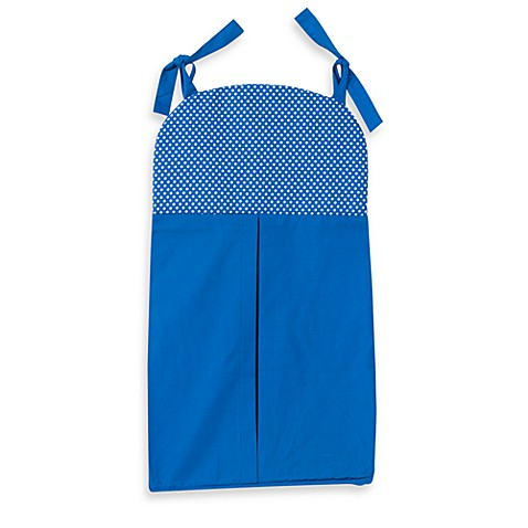 One Grace Place Simplicity Diaper Stacker in Blue