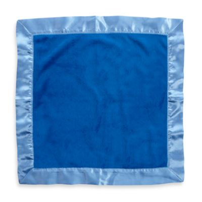 One Grace Place Simplicity Binky Blanket in Blue