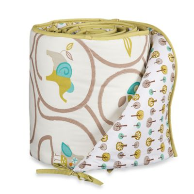 Lolli Living™ by Living Textiles Baby Crib Bumper in Animal Tree/Tree Dot