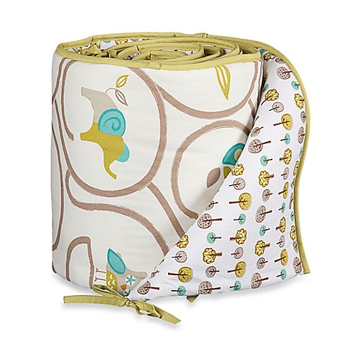 Bumpers > Lolli Living™ by Living Textiles Baby Mix & Match Crib Bumper in Animal Tree/Tree Dot