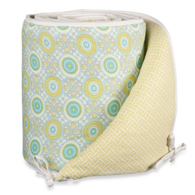 Lolli Living™ by Living Textiles Baby Crib Bumper in Gio/Labyrinth Green