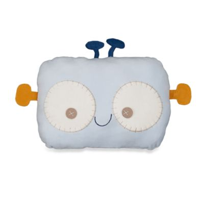 Lolli Living™ by Living Textiles Baby Pillow in Robot