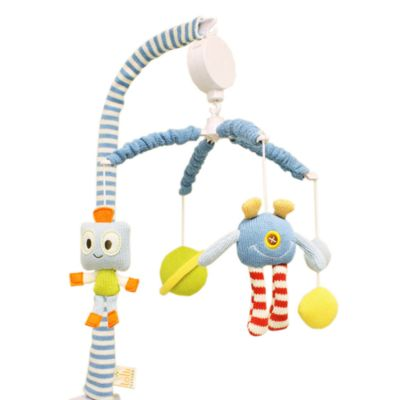 Crib Fashion Bedding > Lolli Living™ by Living Textiles Baby Musical Mobile Set in Robot