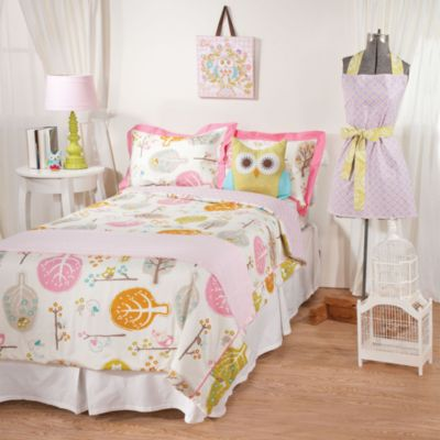 Lolli Living™ by Living Textiles Baby Twin Bedding in Lovebird/Tigerlily Comforter & Sham Set