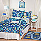 Lolli Living™ by Living Textiles Baby Twin Bedding Collection - Robot/Galaxy Stripe