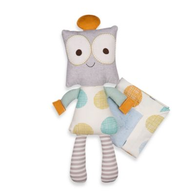 Living Textiles Toy and Blanket Set