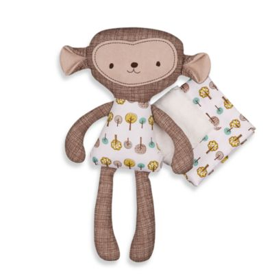 Lolli Living® Animal Tree Crib Bedding Collection > Lolli Living™ by Living Textiles Baby Mix & Match Toy and Blanket Set in Rocco Monkey