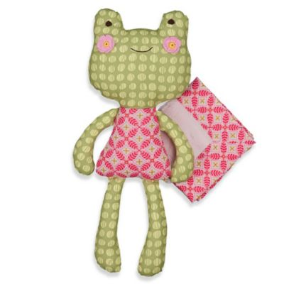Lolli Living™ by Living Textiles Baby Toy & Blanket Set in Sofia Frog