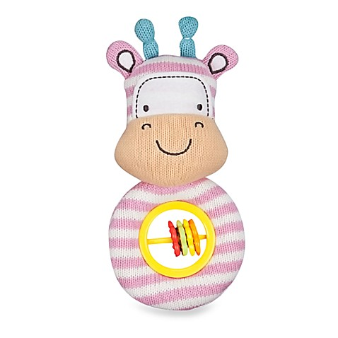 Lolli Living™ by Living Textiles Baby Rattle Toy in Gigi Giraffe