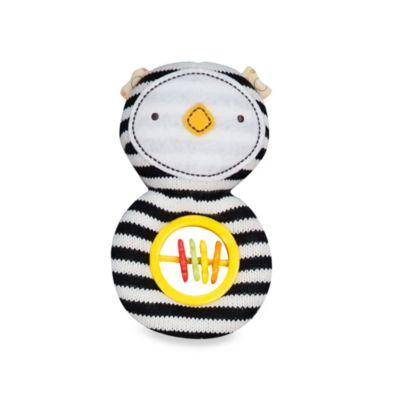 Lolli Living™ by Living Textiles Baby Rattle Toy in Phin Penguin