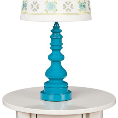 Lolli Living™ by Living Textiles Baby Lamp Base in Teal Spindle
